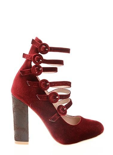 Glamorous Ayakkabı Bordo